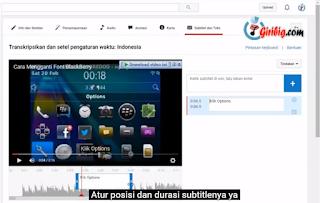 Cara Membuat Subtitle Di Youtube