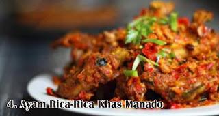 Ayam Rica-Rica Khas Manado merupakan salah satu makanan khas Nusantara yang wajib ada saat Natal