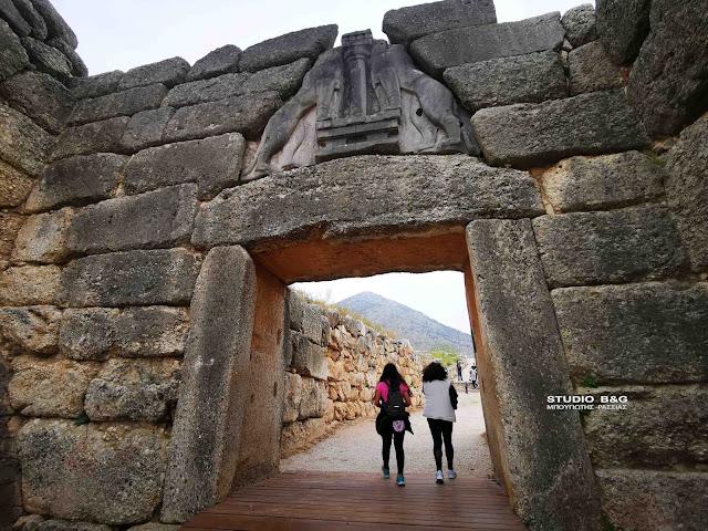 Αργολίδα: Η ελεύθερη είσοδος εκτίναξε την επισκεψιμότητα των αρχαιολογικών χώρων