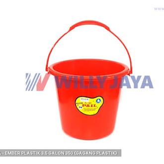 ULTRA - EMBER PLASTIK 3.5 GALON 350 (GAGANG PLASTIK)