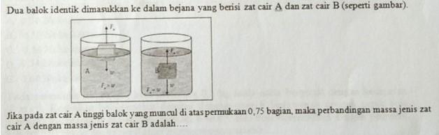 Soal fisika USBN Nomor 10