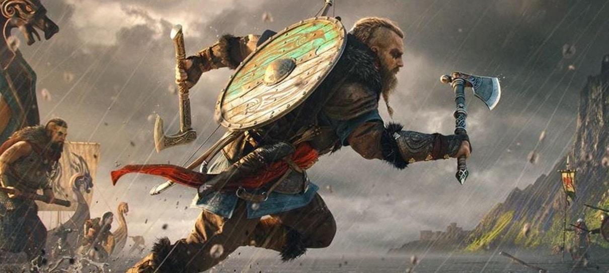 Trailer de Assassin's Creed Valhalla está fazendo história