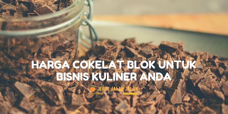 Harga Cokelat Blok Untuk Bisnis Kuliner Anda