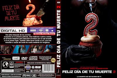 CARATULA - FELIZ DÍA DE TU MUERTE 2 - HAPPY DEATH DAY 2 YOU - 2019