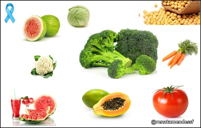 Alimentos que ajudam na prevenção do câncer de próstata