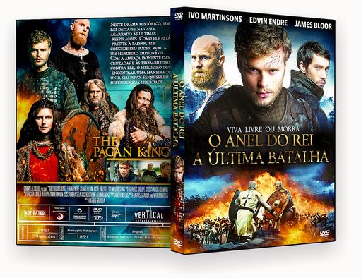 CAPA DVD – O Anel Do Rei A Última Batalha AUTORADO