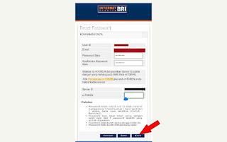 Mengatasi lupa password mengganti password