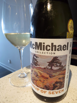 McMichael Collection Group of Seven Chardonnay 2014 - VQA Niagara Peninsula, Ontario, Canada (88 pts)