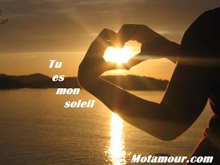 Tu es mon soleil Messages, poèmes et citations pour elle et lui