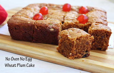 Plum Cake wheat plum cake ayeshas Christmas recipe cake recipes for Christmas wheat cake healthy plum cake no oven no egg Cake recipe eggless cakes