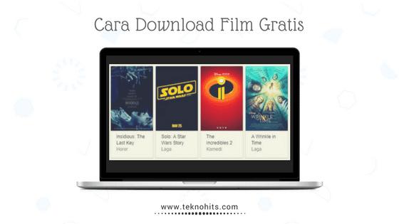 cara download film di laptop dengan cepat mudah dan