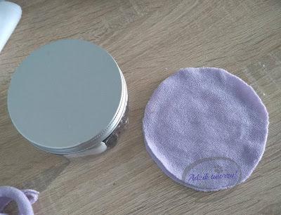 Adzik tworzy - wielorazowe płatki kosmetyczne DIY jak uszyć