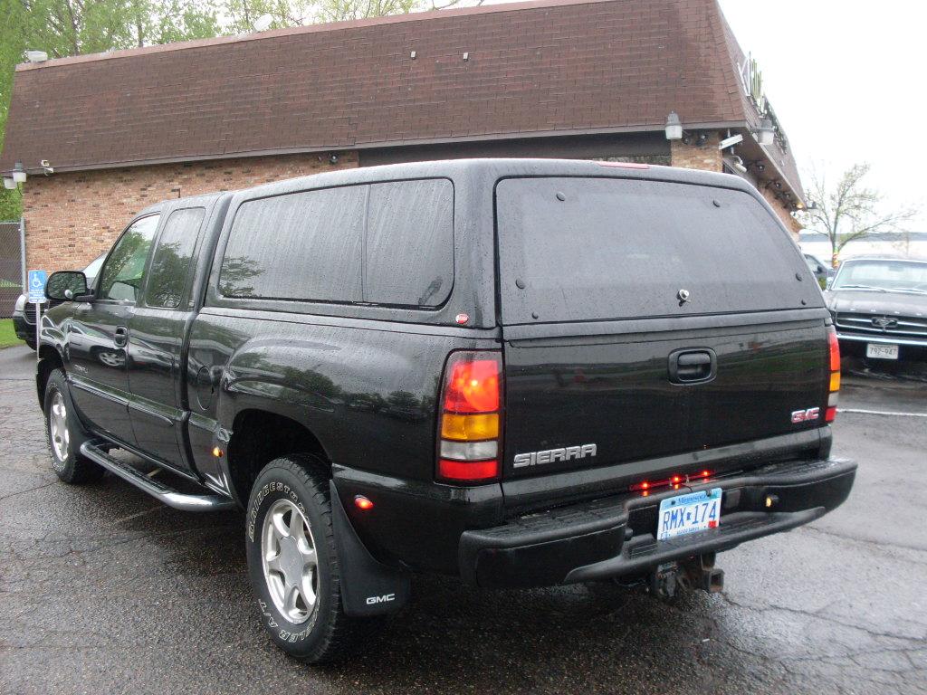 gmc sierra 2004 denali ride auto quadrasteer