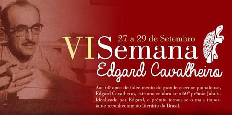 Casa do Escritor Pinhalense realiza 'VI Semana Edgard Cavalheiro'