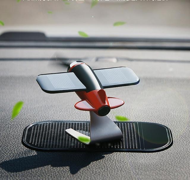 Quạt sáp thơm đặt trong oto xe hơi, Trong phòng chạy bằng năng lượng mặt trời