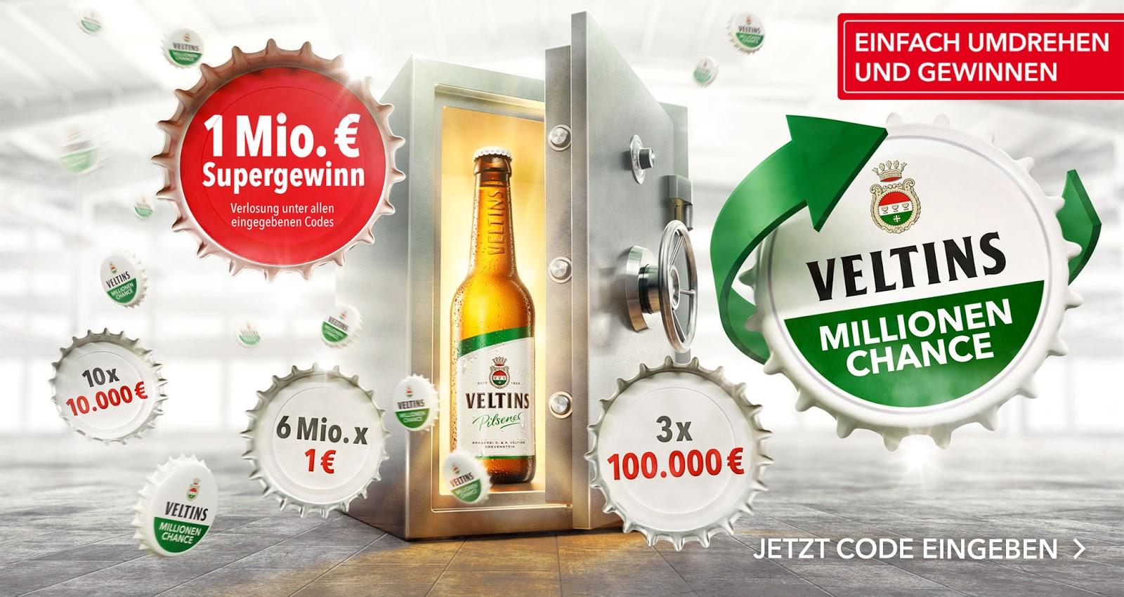 Die Veltins Millionen Chance oder das wertvollste Bier Deutschlands | Der beste Werbeclip des Tages