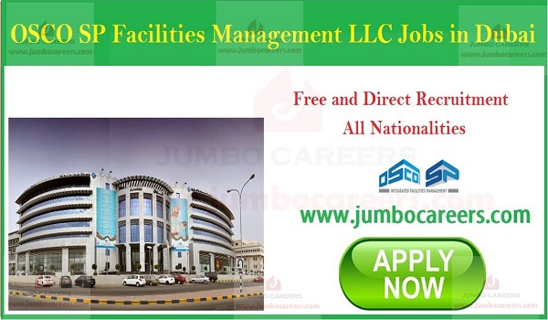 UAE job opportunities for facility management, Facility management jobs in Dubai with salary,