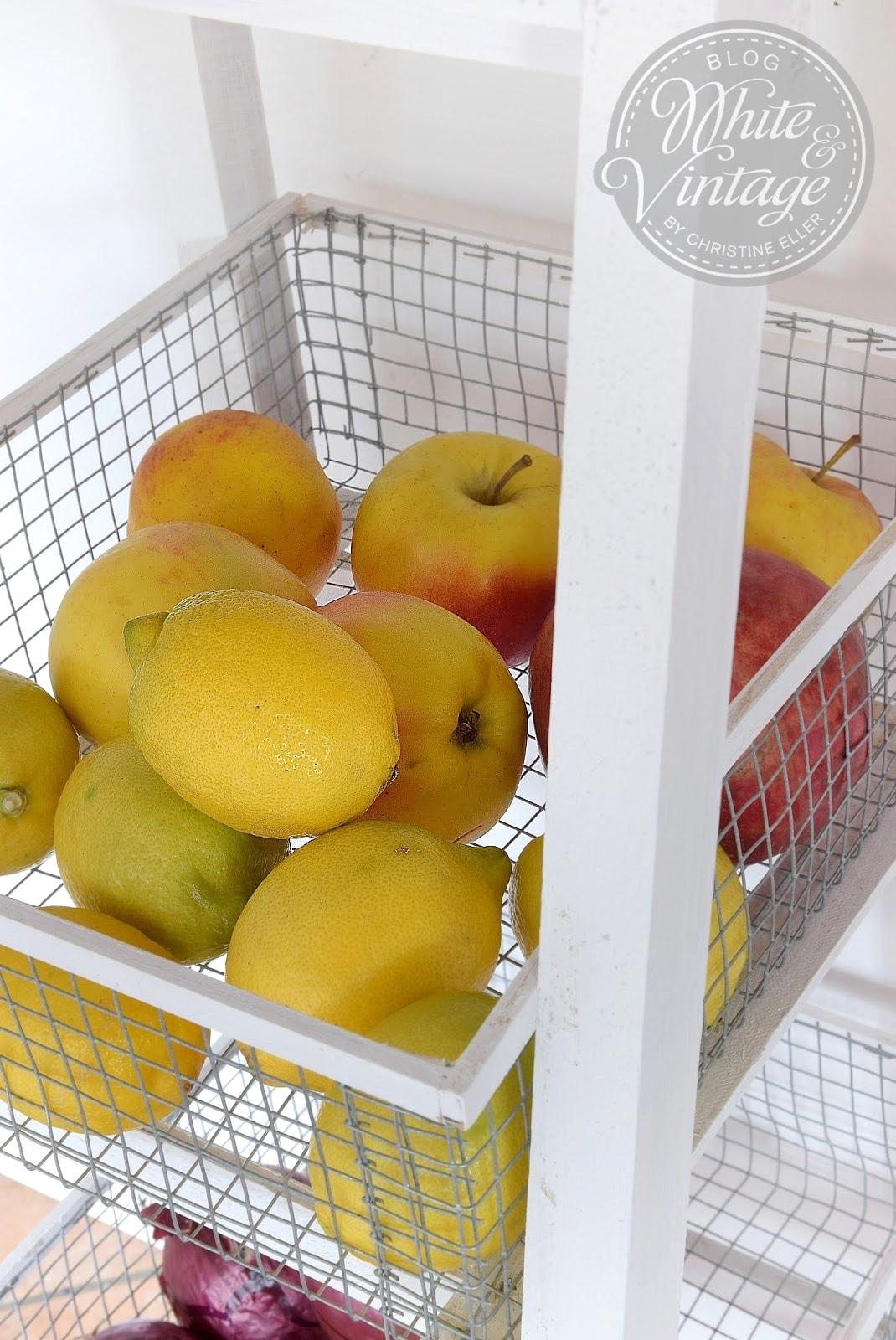 Küchenregal für Obst und Gemüse selber machen Schritt-für-Schritt-Anleitung