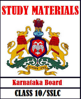 Karnataka SSLC Model question Papers