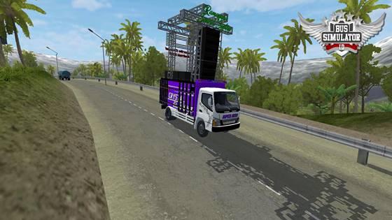 mod truk muat sound system