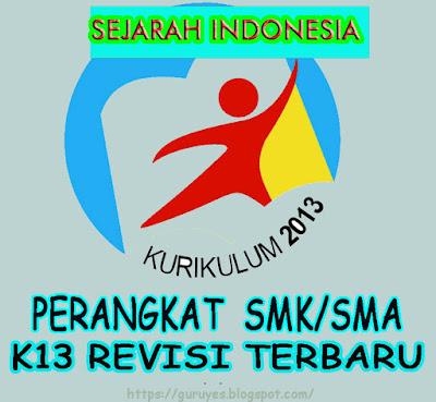 RPP Kurikulum 2013 Sejarah Indonesia kelas 10 SMA/MA  Revisi 2018
