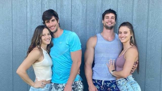 Gemelas conocen a gemelos y ahora ya viven juntos los cuatro