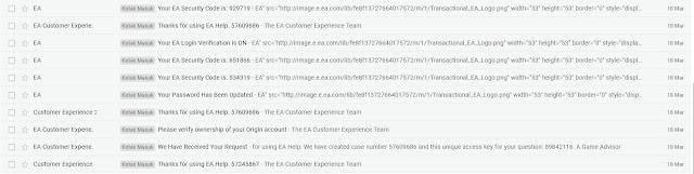 Kode keamanan yang dikirimkan lewat Email
