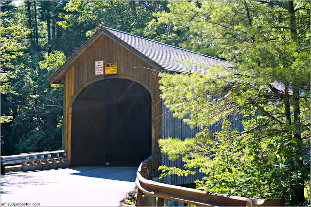 Puente Cubierto Babb's Covered Bridge, Maine