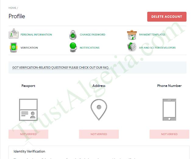 شرح التسجيل في بنك ادفكاش AdvCash للحصول على بطاقة فيزا
