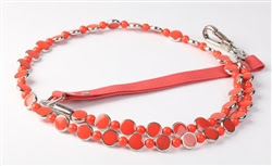 THE ART DECO COLLECTION LEASH- CORAL