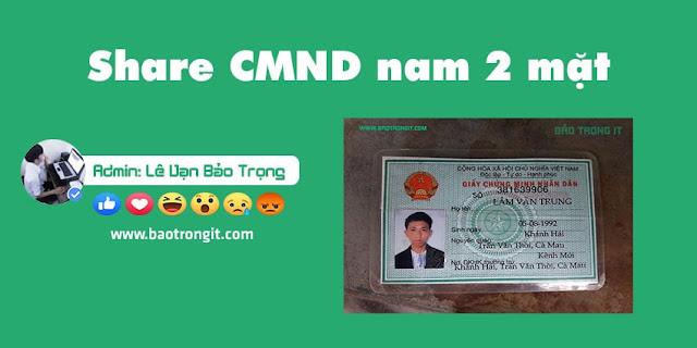 Share PSD CMND nam 2 mặt