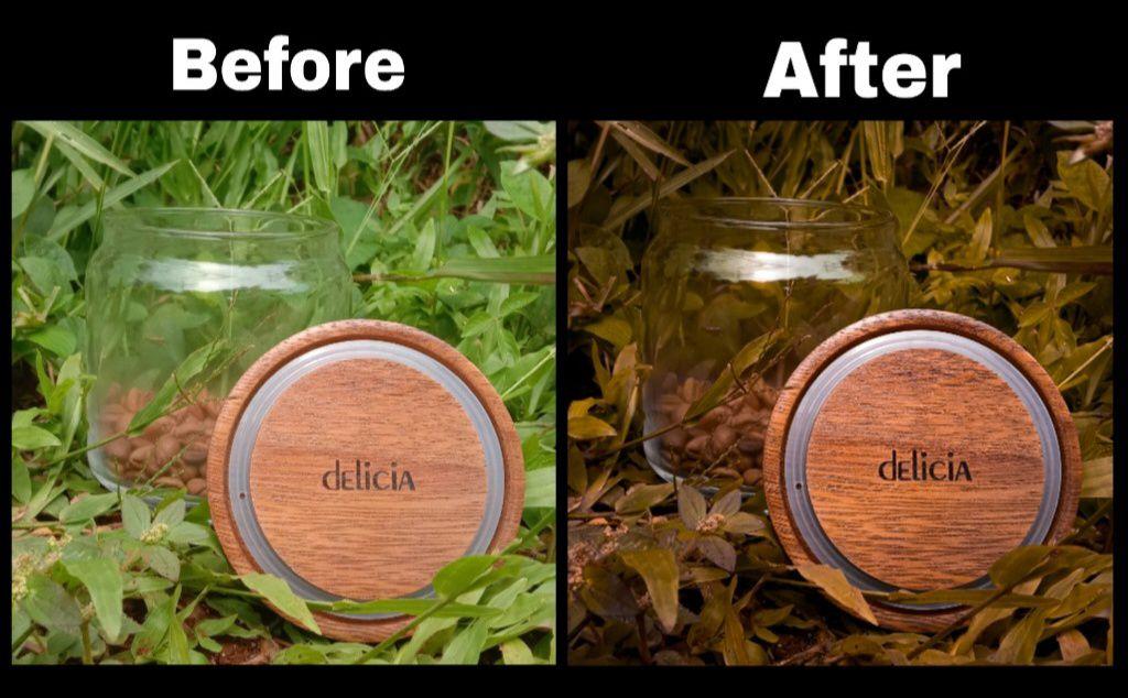 Mengubah Warna Daun Dengan Adobe Lightroom