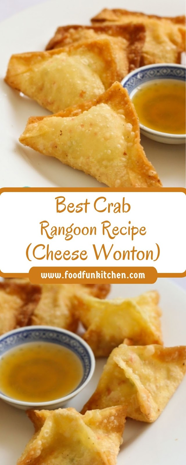 BEST CRAB RANGOON RECIPE (CHEESE WONTON)