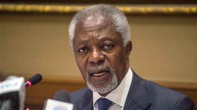US President Donald Trump should engage in talks with Iran: Former United Nations secretary-general Kofi Annan