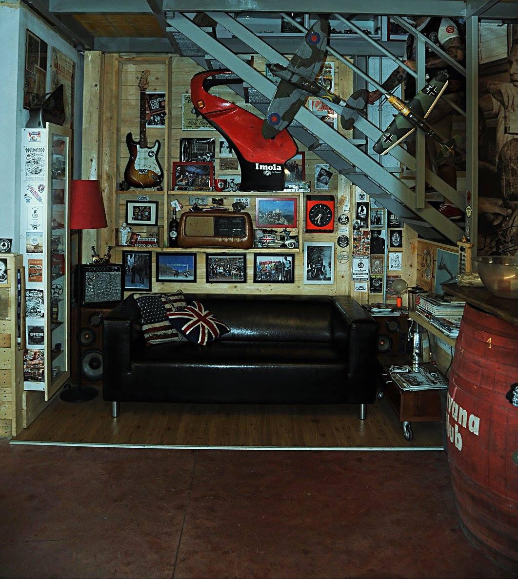 Man Cave Garage Magazine : Ciborio s man cave rocketgarage cafe racer magazine
