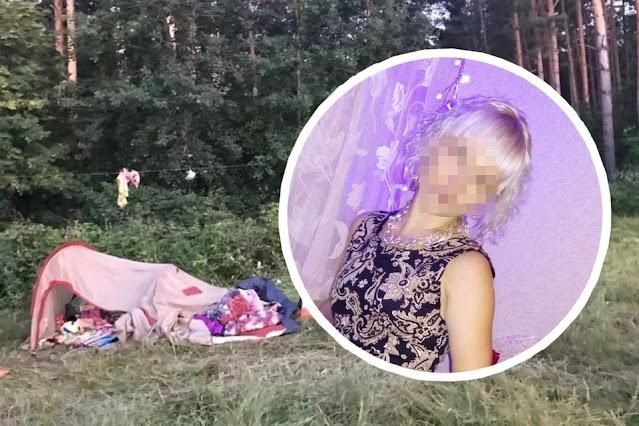 Под Новосибирском женщина, не имеющая прав, села за руль и наехала на палатку с детьми: погибла их мама