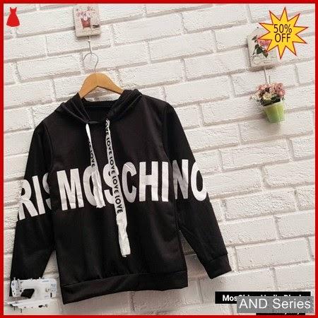 AND174 Baju Atasan Wanita Blouse Moschino Hoodie BMGShop