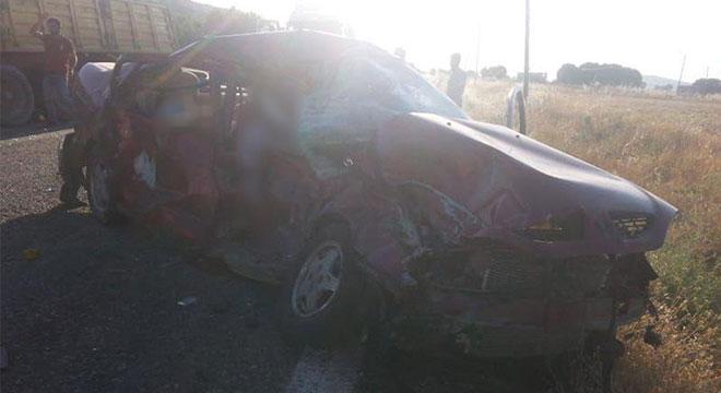 Diyarbakır Ergani'de kaza: 3 ölü, 1 yaralı