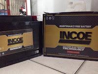 Harga aki Incoe Maintenance Free terbaru