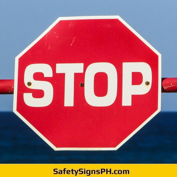 Octagon Stop Signage Philippines