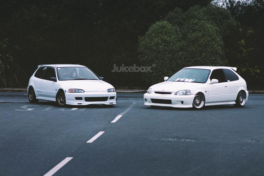 Honda Civic, EG, EK, VTEC, kultowe samochody, przednionapędówki, tuning, auta z lat 90