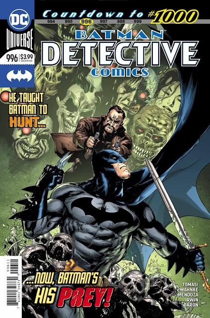 """""""Detective Comics"""" núm. 996 de Peter J. Tomasi y Doug Mahnke - DC Comics"""