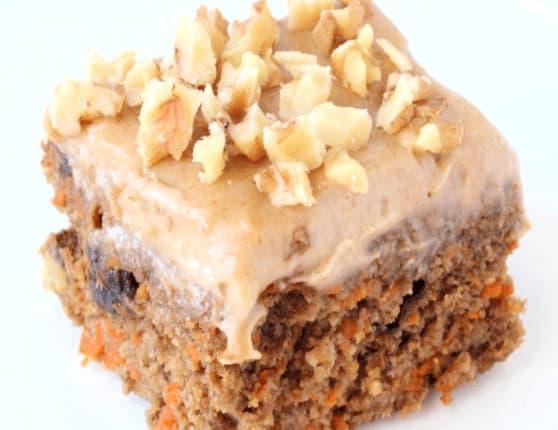 Healthy Vegan Carrot Cake Recipe