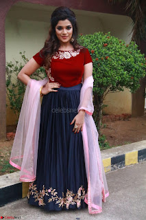 Actress Aathmika in lovely Maraoon Choli ¬  Exclusive Celebrities galleries 075.jpg