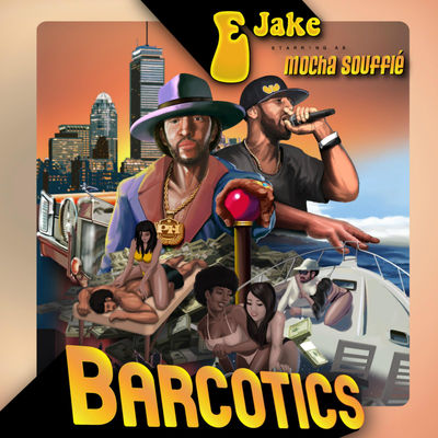 E Jake - Barcotics - Album Download, Itunes Cover, Official Cover, Album CD Cover Art, Tracklist