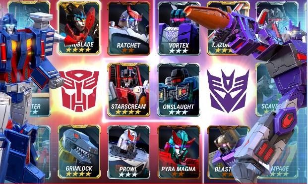 Download Transformer Earth War Mod Apk v1.42.0.16766 ( Unlimited Energy )