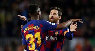 موعد مباراة برشلونة وليفانتي اليون الأحد 13-12-2020 في مباريات الدوري الاسباني