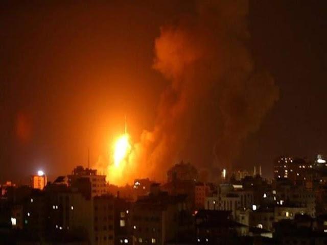 انفجار ضخم في محطة توليد كهرباء الوليدية بأسيوط