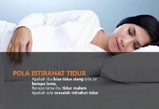 hormon yang membuat sang ibu lebih sulit tidur
