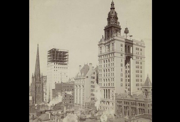 Picture of the Manhattan Life Insurance Building, New York City